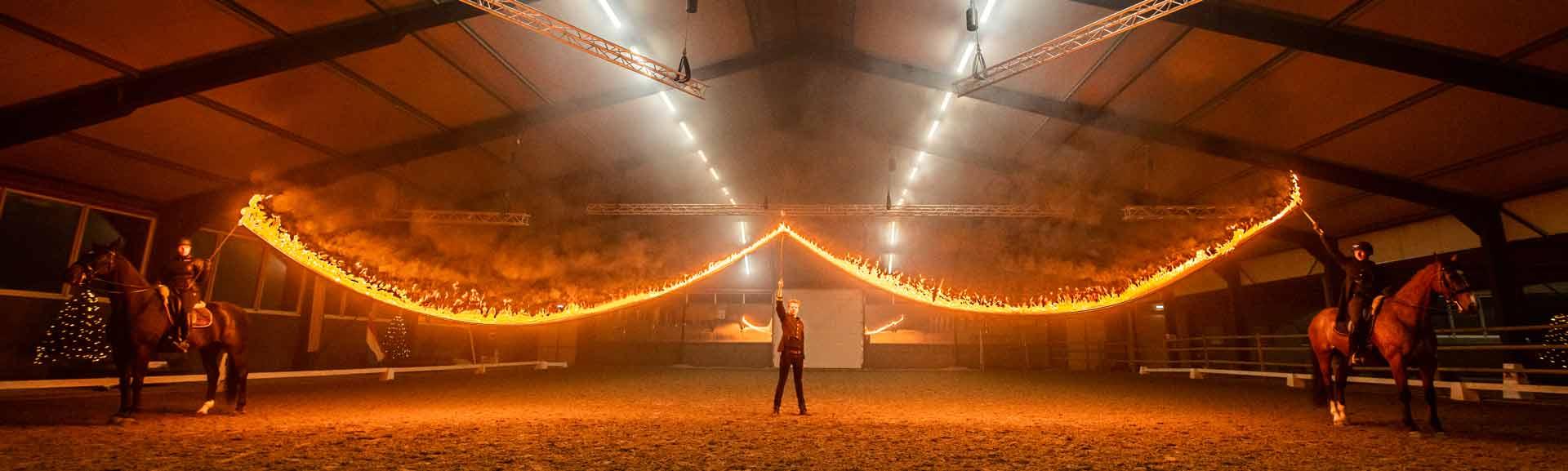 Fin Jopson horse show designer